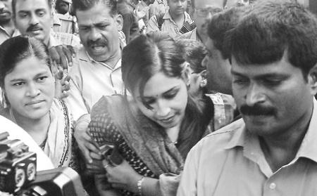 Leena-Maria-Paul brought to Chennai