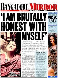 Khushbu claiming honesty