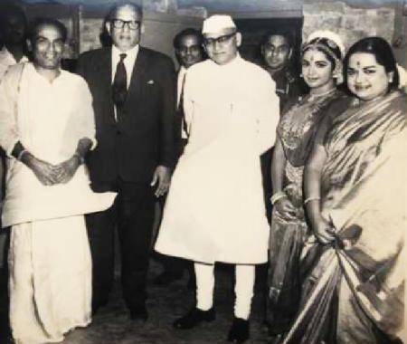 ஶ்ரீவித்யாவின் அரங்கேற்றம்-கே.கே.ஷா கவர்னர்
