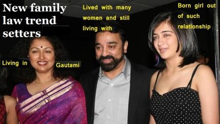Gautami, Kamal and Akshara
