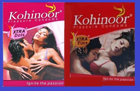 Kohinoor condom ad.for what