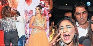 நடிகை புகார், அடிவாங்கிய டைரக்டரின் மனைவியும் புகார்