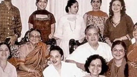 Gamini Ganesan family