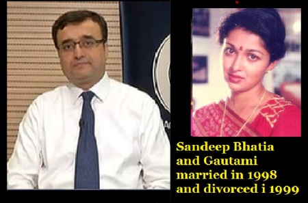 sandeep-bhatia-and-gautami-married-in-1998-and-divorced-in-1999