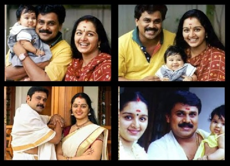 dilip-manju-warrior-meenakshi-child