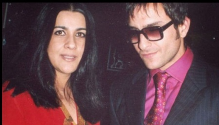 Amrita Singh is the First Wife of actor Saif Saif Ali Khan