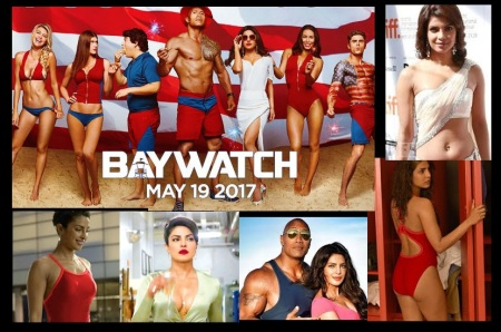 Priyanka Chopra - Bay watch May 2017