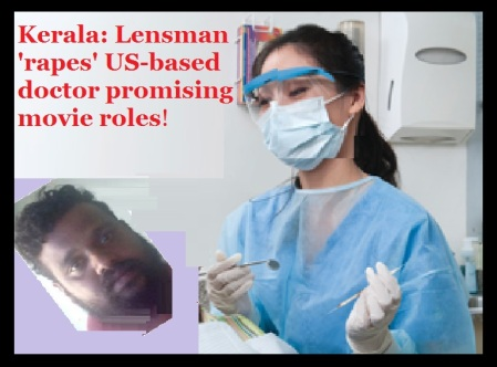 Jinson Lonappan - raped Dentist actress-Vedaprakash