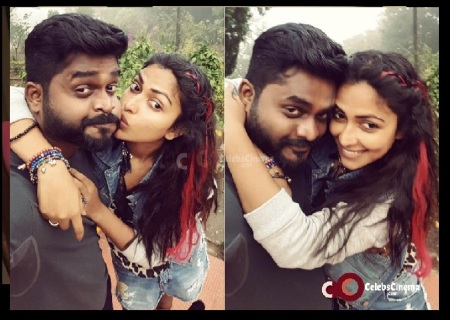 Amala Paul - kissing